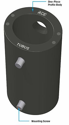 TUBUS TR-L profile dampers made of co-polyester elastomer