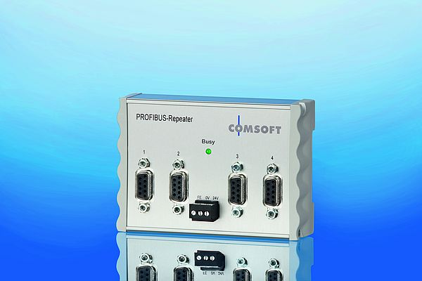 4-port PROFIBUS RS-485 Repeater