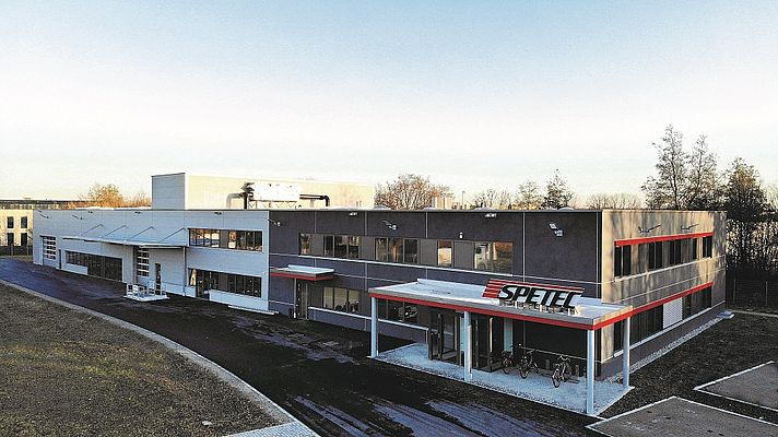 Spetec Moves to a Larger Building and Gets Ready for the Expansion