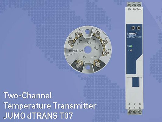 Two-Channel Temperature Transmitter