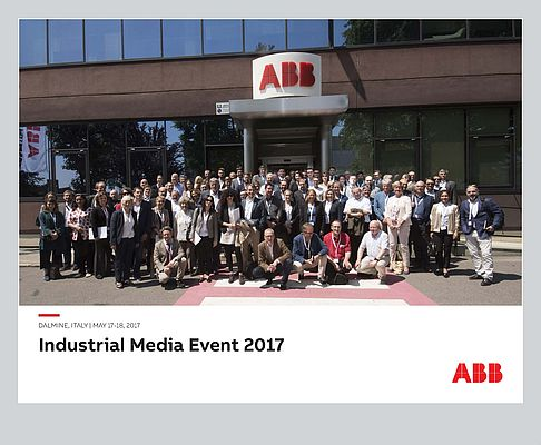 Great Success for ABB Industrial Media Event in Dalmine, Italy