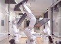 'Threebots' interactive robot installation receives several awards