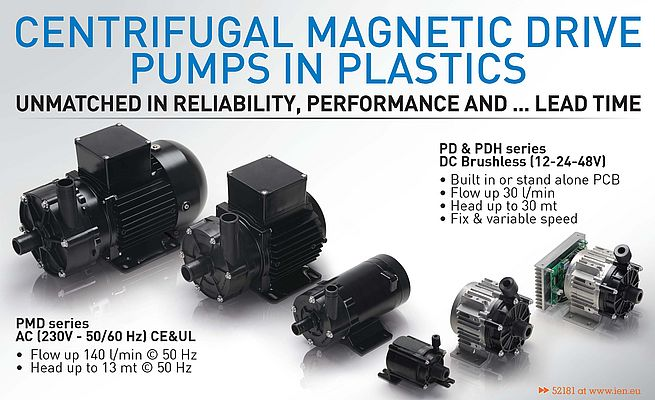 Centrifugal Magnetic Drive Pumps