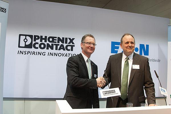 Eaton and Phoenix Contact Sign Cooperation Agreement