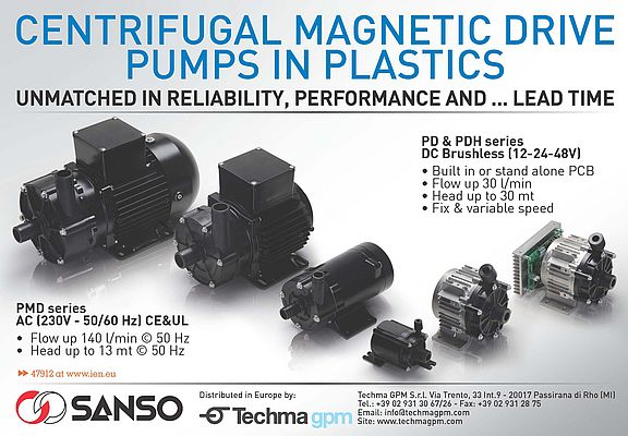 Centrifugal Magnetic Drive Pumps PD & PDH series
