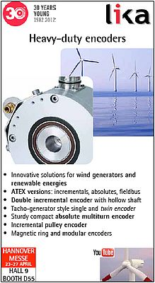 Heavy-duty encoders