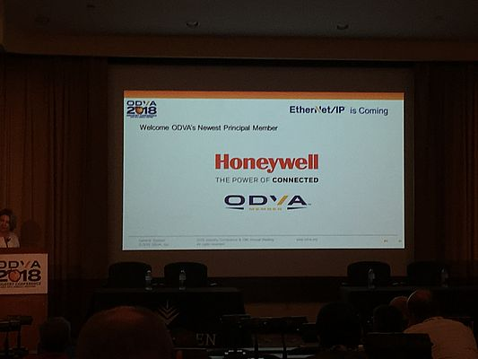 Honeywell Becomes Principal Member of ODVA
