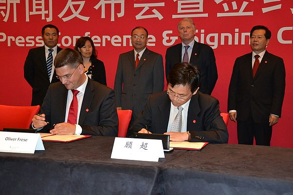 Partner Country China - Agreements Signed in Beijing