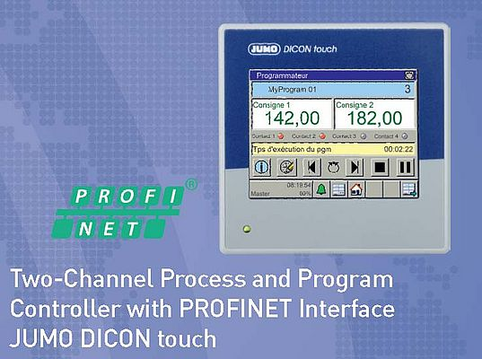 Two-Channel Process and Program Controller