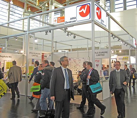 AMA Center at the SPS IPC Drives Trade Show