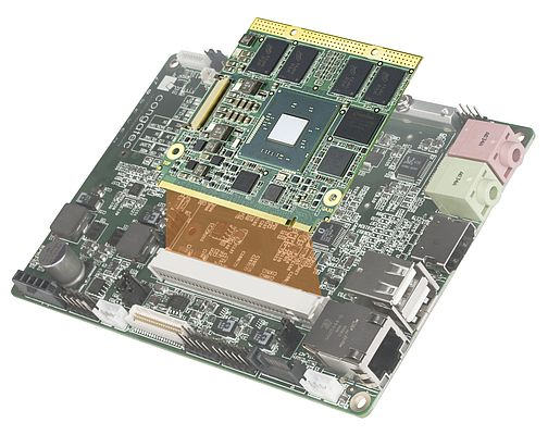 QA3 Qseven module, which was recently certified for the Intel Gateway Solutions for the IoT
