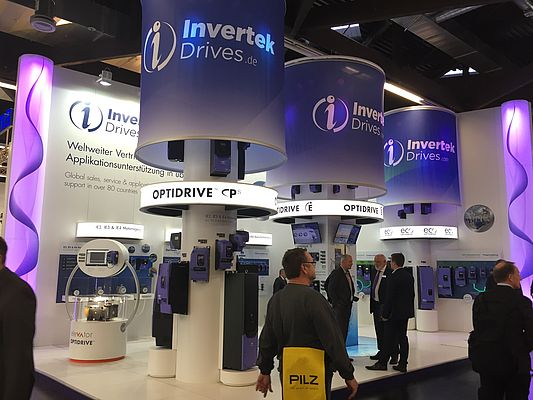 Invertek returning to Nuremberg for SPS IPC DRIVES