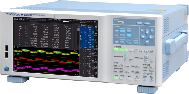 WT5000 is a precision power analyser offered by Yokogawa