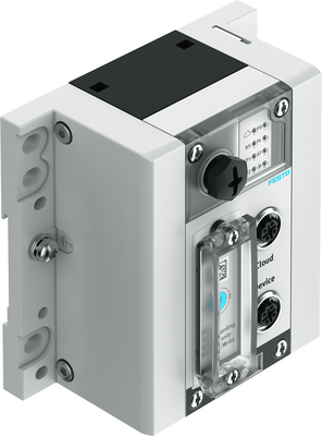 With the Festo IoT Gateway CPX-IOT as hardware, customers can have their machine and plants monitored at field level. Field level support is provided with the ScraiField software component. (Photo: Festo AG & Co. KG)