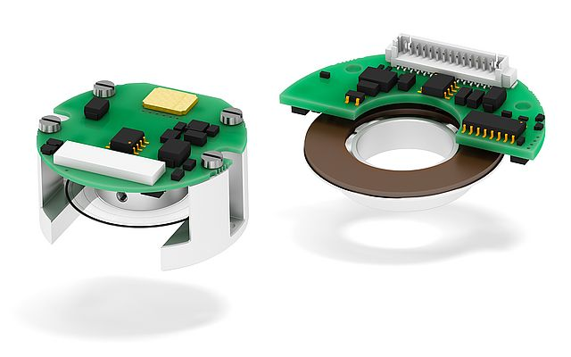 Miniature and Off-axis Modular Encoders