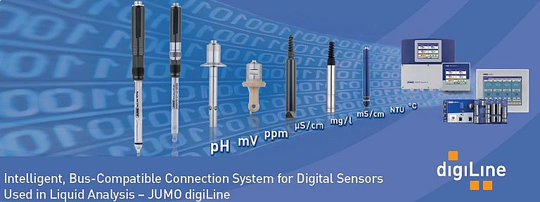 Intelligent, Bus-Compatible Digital Sensor System for Liquid Analysis