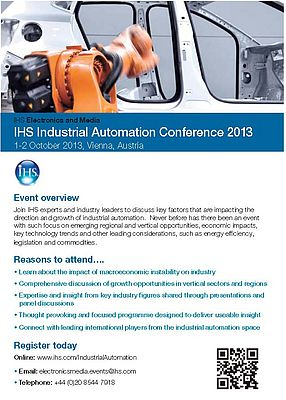 IHS Industrial Automation Conference 2013
