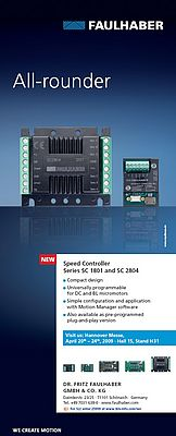 Speed controller Series SC1801/SC 2804