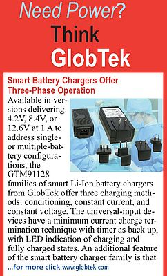 GTM91128 Smart Battery Chargers