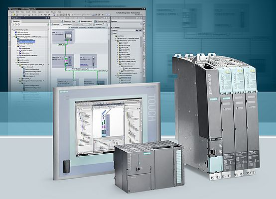 Siemens has developed a whole new range of automation controllers.