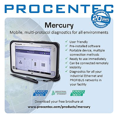 Easy PROFIBUS and Industrial Ethernet Diagnostics
