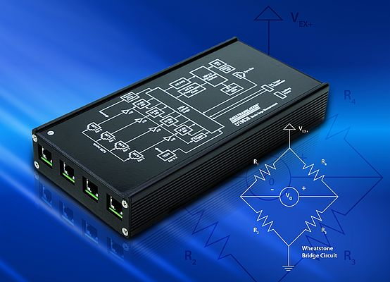 Four-Channel Strain- and Bridge-Based USB