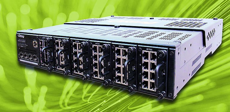 L3 industrial switch from Acceed with 48 GB ports and four 10G ports