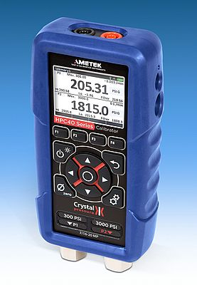Handheld Pressure Calibrator for Process Control