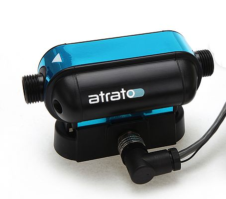 The most recent development is the ruggedized version of the Atrato flow meter for harsh environments.