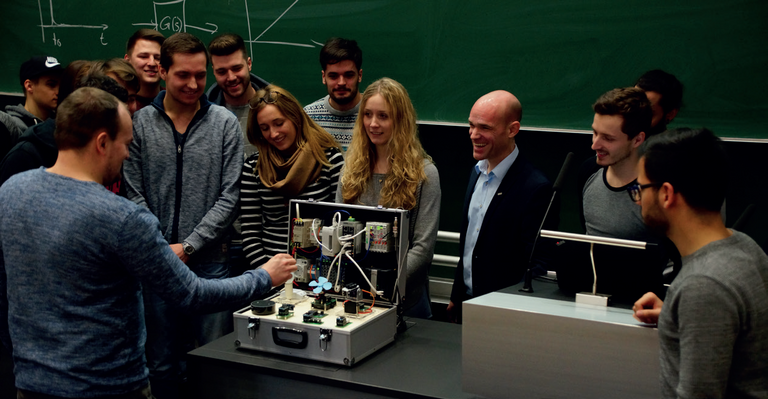 IoT out of the box: students work with the box, gaining first-hand experience of the IoT