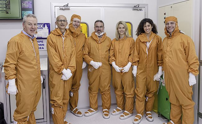 Exclusive tour of Analog Devices cutting-edge cleanroom in Limerick, Ireland