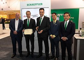 Industry 4.0 Partnership Sealed by Schaeffler and Mitsubishi Electric
