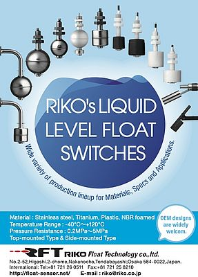 Liquid Level Float Switches