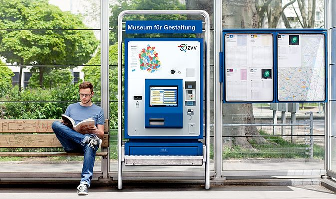 Ticket machines are often placed outdoors and are subject to high temperature fluctuations, humidity and exhaust gases (source: ZVV)