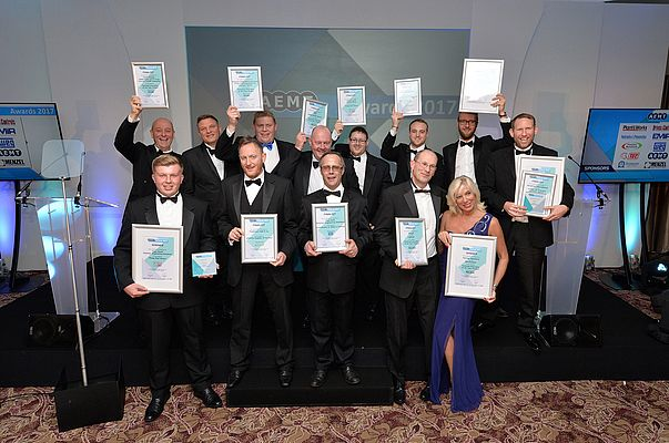 A total of six awards were given out to exemplary businesses and professionals involved in the manufacture, sales, service & repair of rotating electrical machinery