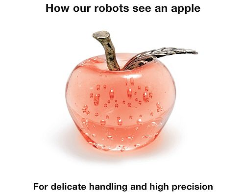 How Our Robots See an Apple
