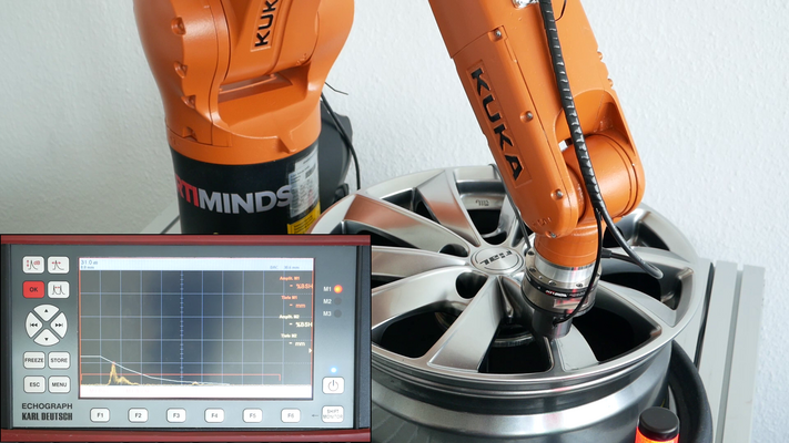 Robot-supported Ultrasonic Defect Testing and Quality Control