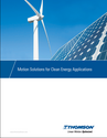 Motion Solutions for Clean Energy Applications
