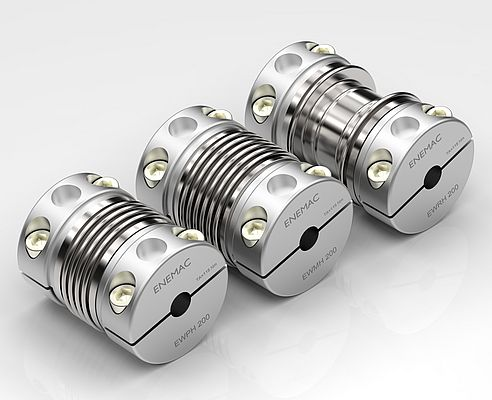 Metal Bellows Couplings type EWPH, EWMH and EWRH from Enemac