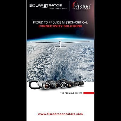 Fischer Connectors Joins SolarStratos as Official Partner