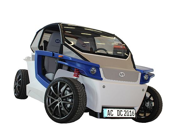 The fully-functional prototype of StreetScooter C16 electric car was developed in just 12 months by replacing traditional automotive manufacturing processes with Stratasys 3D printing throughout the design phase.