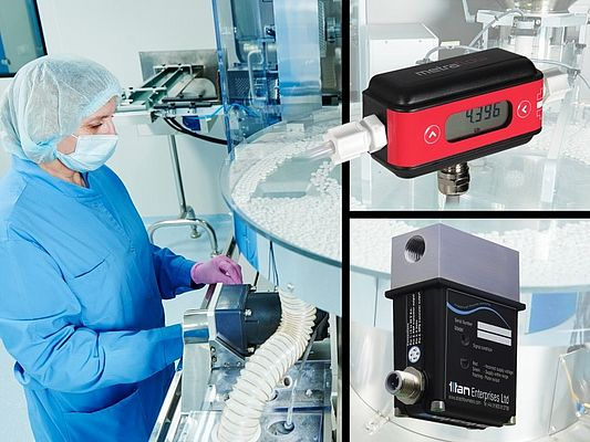 Flow meters for Pharmaceutical applications