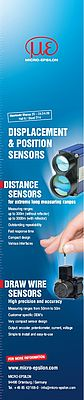 Displacement & position sensors