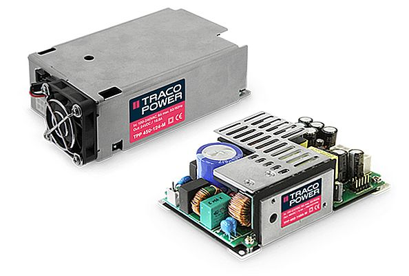New 450 Watt Medical Power Supplies