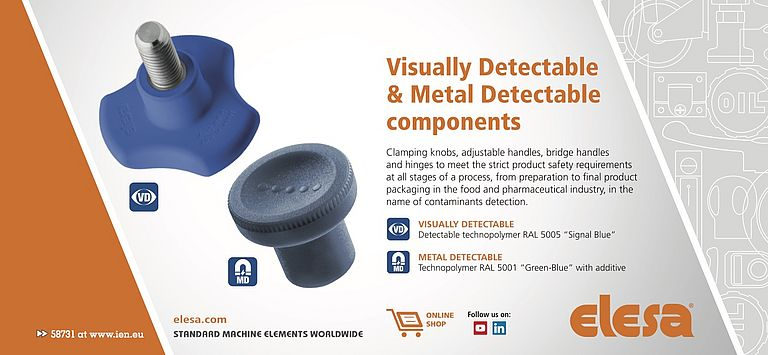 Metal Detectable & Visually Detectable Components