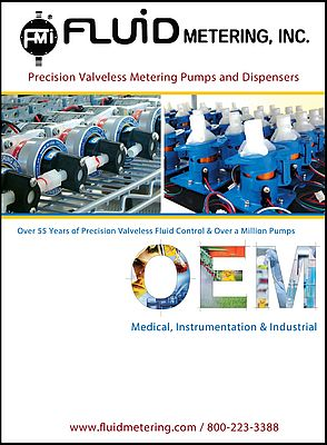 New OEM Catalog for Metering Pumps & Dispensers
