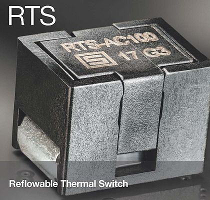 Reflowable Thermal Switch