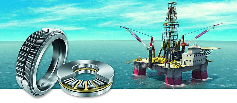 Rolling Bearings Prevent Unplanned Downtime of Drill Rig Plant and Machinery