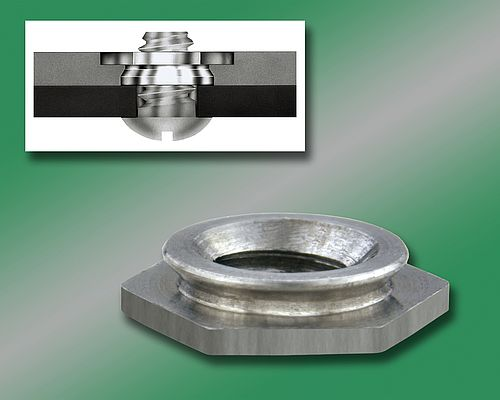 Self-Clinching Flush Nuts