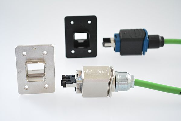 Easy-To-Install Industry Standard Connectors